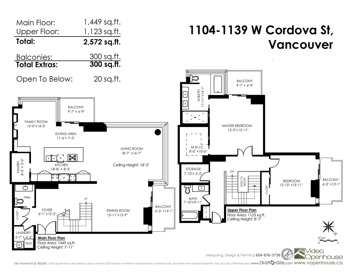 Photo 20: 1104 1139 W CORDOVA Street in Vancouver: Coal Harbour Condo for sale (Vancouver West)  : MLS(r) # R2160404
