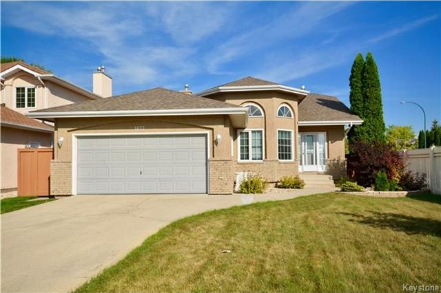 Main Photo: 1073 Scurfield Boulevard in Winnipeg: Whyte Ridge Residential for sale (1P)  : MLS®# 1721730