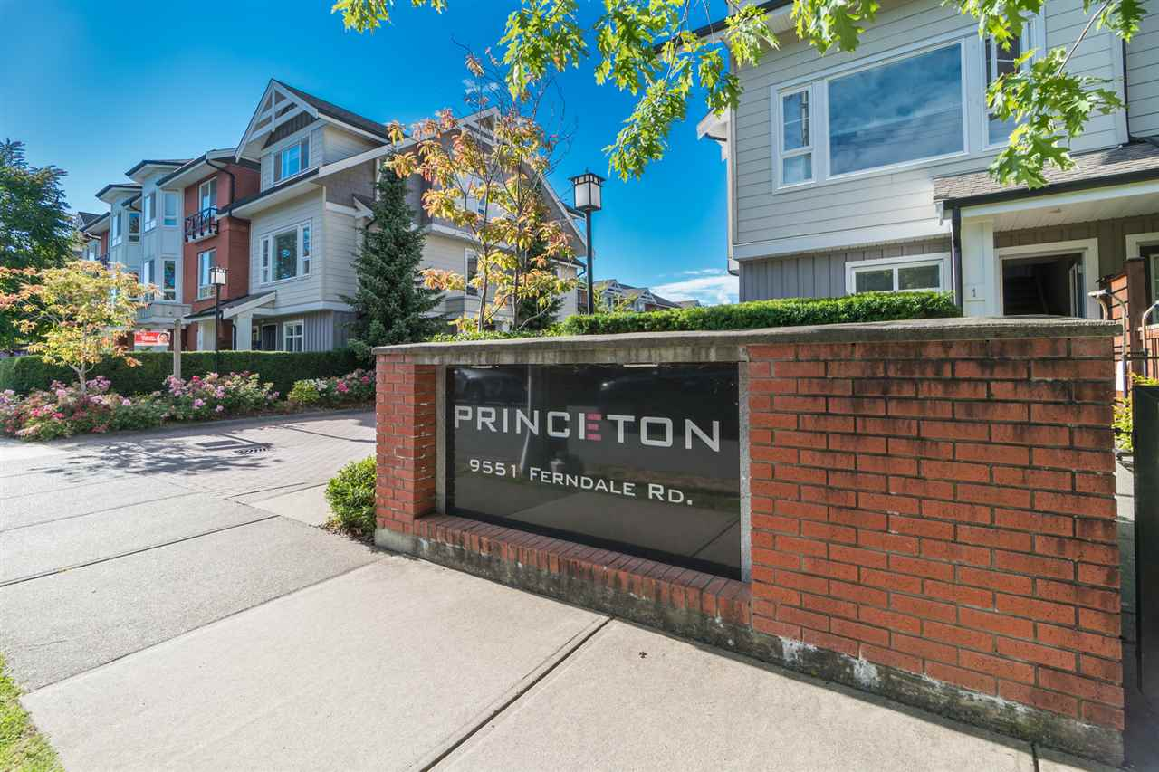 Main Photo: 1 9551 FERNDALE Road in Richmond: McLennan North Townhouse for sale : MLS®# R2287890