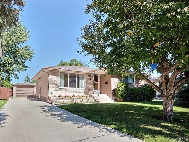 Main Photo: 80 Mattinee Bay in WINNIPEG: North Kildonan Residential for sale (North East Winnipeg)  : MLS® # 1520763