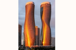 Main Photo: 810 50 Absolute Avenue in Mississauga: City Centre Condo for lease : MLS®# W3751591