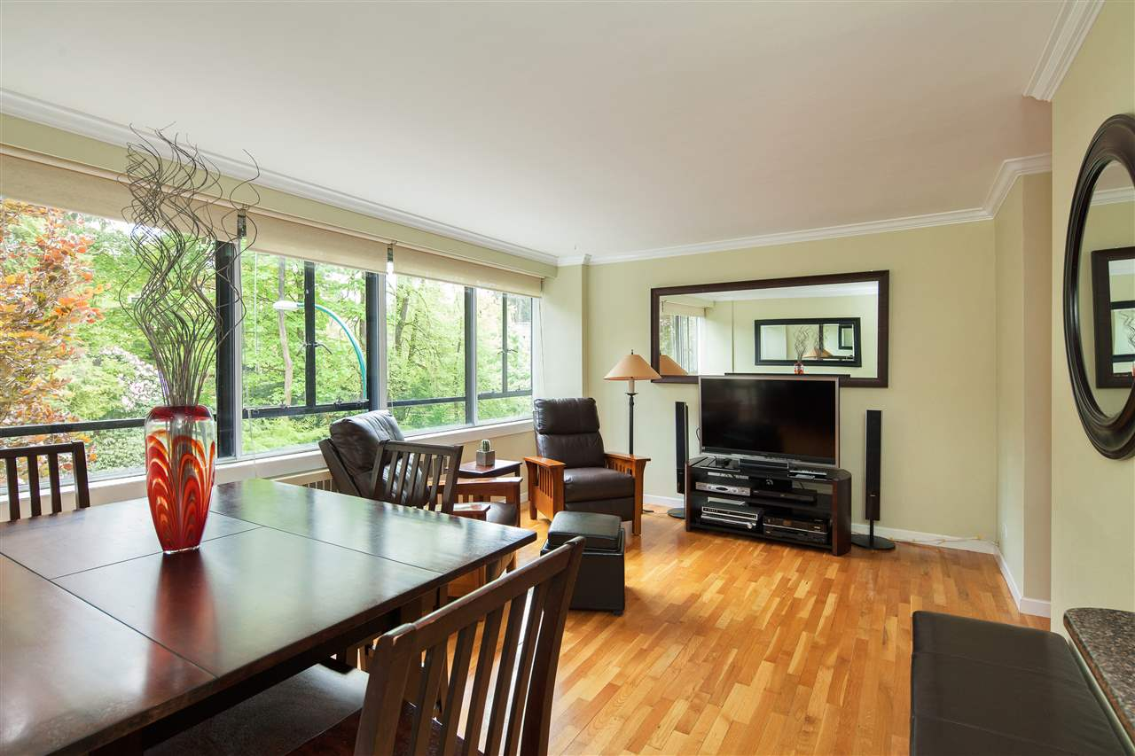 "Main Photo: 511 1445 MARPOLE Avenue in Vancouver: Fairview VW Condo for sale in ""HYCROFT"" (Vancouver West)  : MLS® # R2168180"