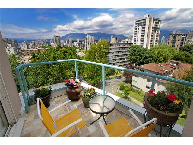 "Main Photo: 801 1272 COMOX Street in Vancouver: West End VW Condo for sale in ""CHATEAU COMOX"" (Vancouver West)  : MLS® # V896383"