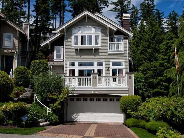 Main Photo: 4917 Edendale Court in West Vancouver: Caulfeild House for sale : MLS®# V956101
