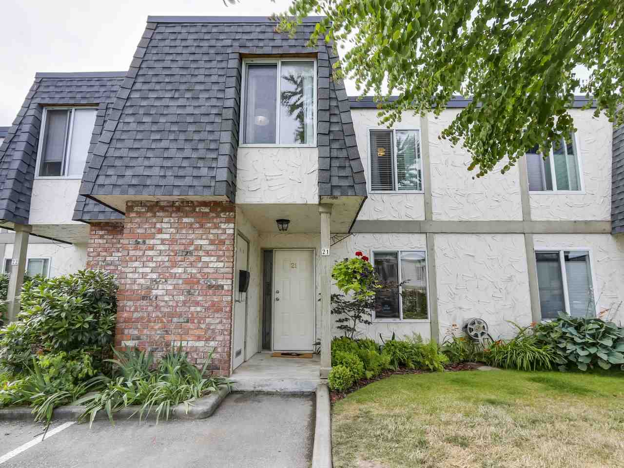 Main Photo: 21 10820 SPRINGMONT Drive in Richmond: Steveston North Townhouse for sale : MLS®# R2292079