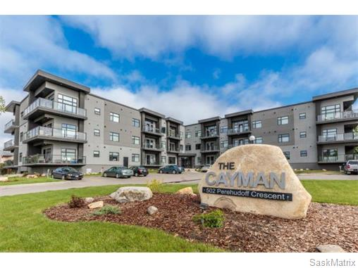 Main Photo: 207 502 Perehudoff Crescent in Saskatoon: Erindale Complex for sale (Saskatoon Area 01)  : MLS®# 574546
