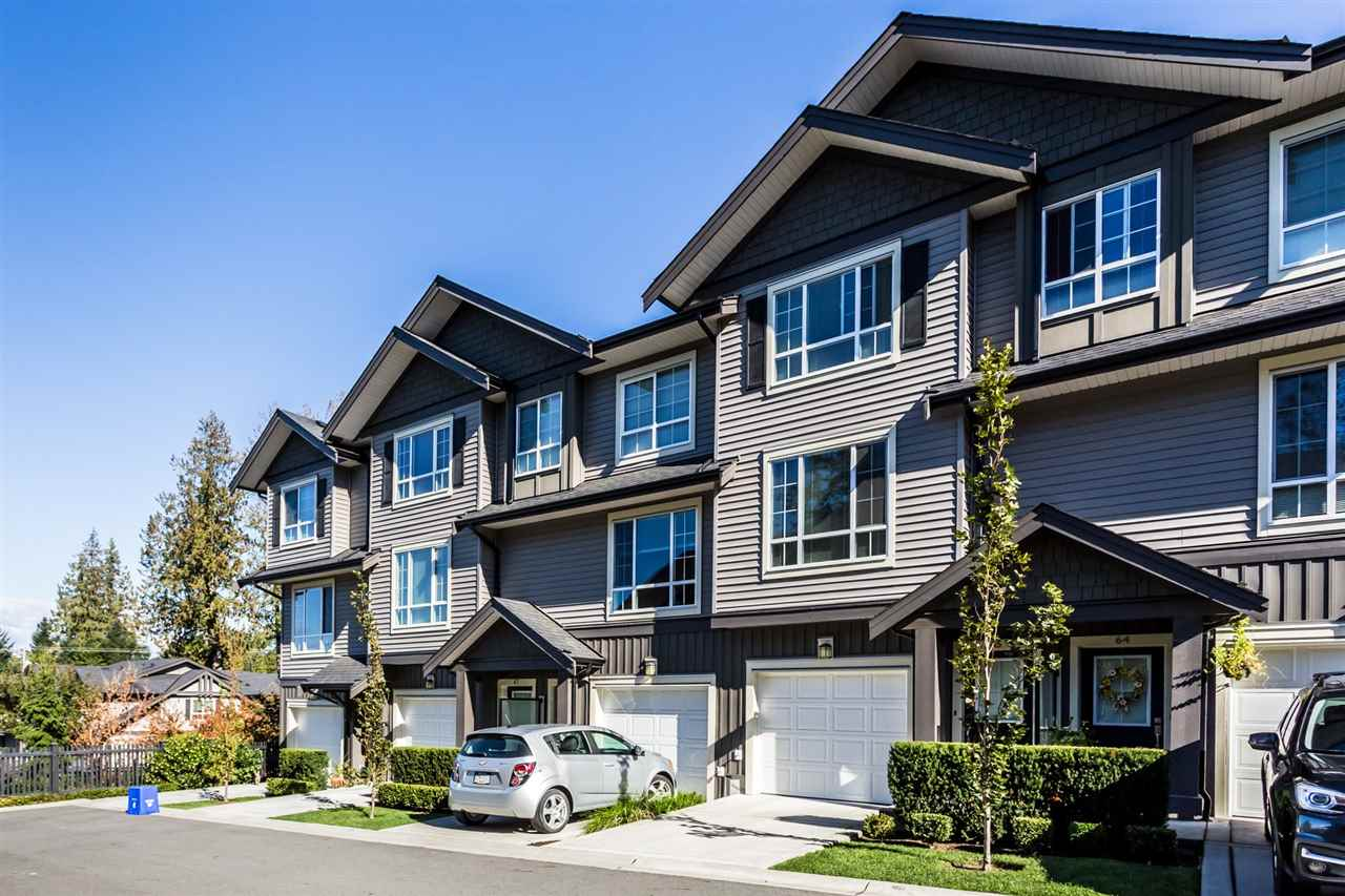 "Main Photo: 65 4967 220 Street in Langley: Murrayville Townhouse for sale in ""WINCHESTER ESTATES"" : MLS®# R2313316"