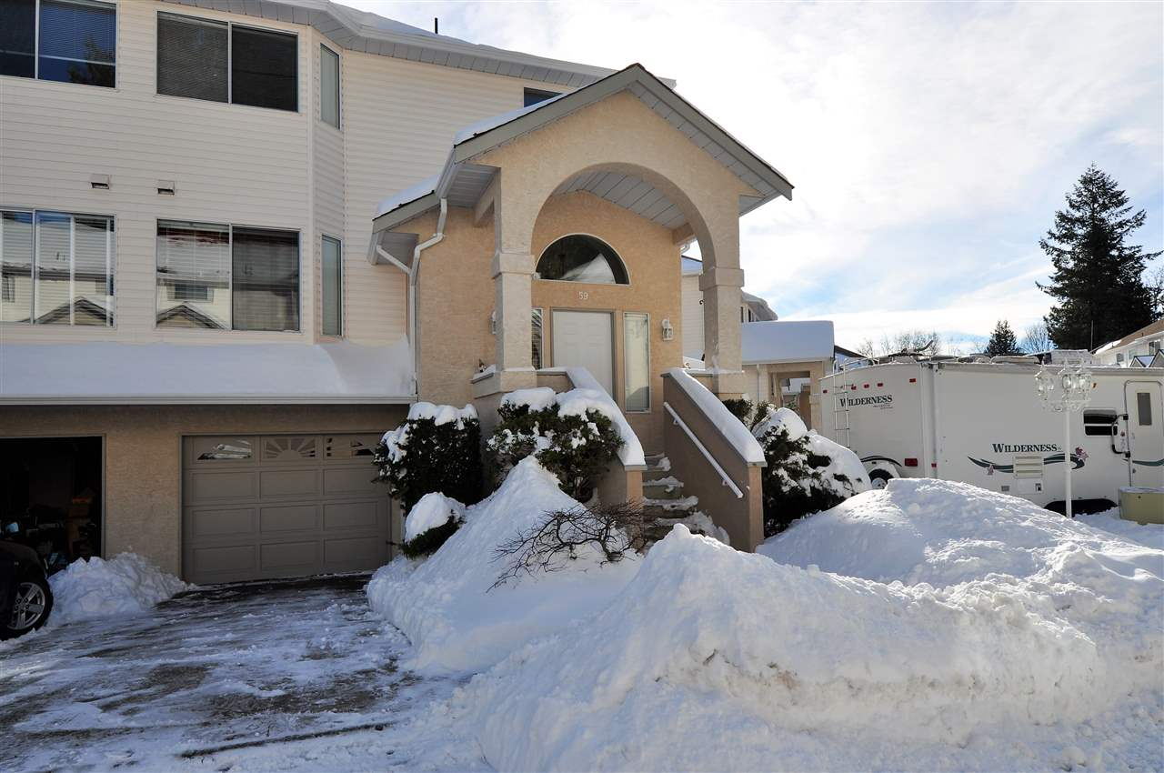 "Main Photo: 59 32339 7TH Avenue in Mission: Mission BC Townhouse for sale in ""Cedarbrooke Estates"" : MLS® # R2137705"
