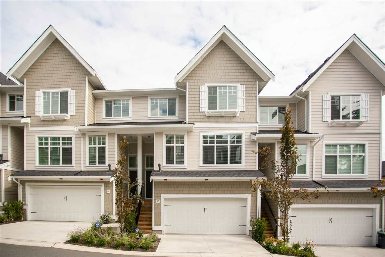"Main Photo: 13 19938 70 Avenue in Langley: Willoughby Heights Townhouse for sale in ""CREST"" : MLS®# R2306024"