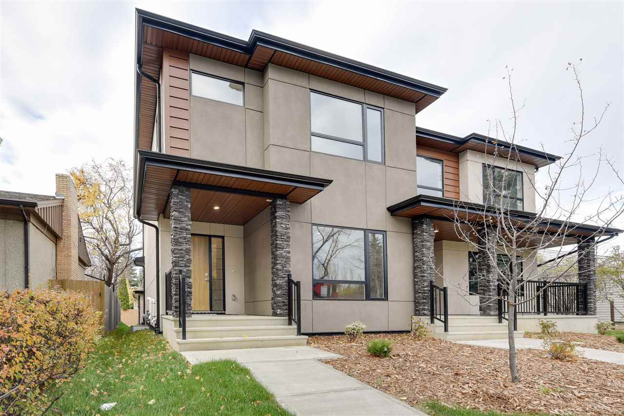 Main Photo: 8816 142 Street in Edmonton: Zone 10 House Half Duplex for sale : MLS® # E4086852
