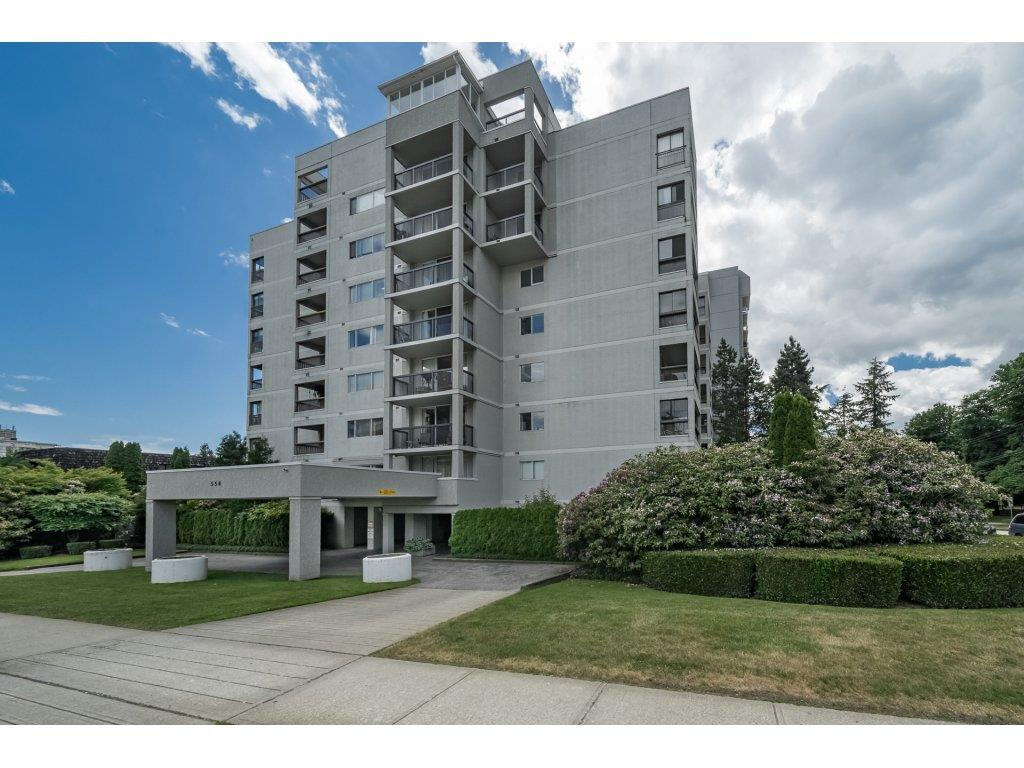 "Main Photo: 104 550 EIGHTH Street in New Westminster: Uptown NW Condo for sale in ""PARK RIDGE"" : MLS®# R2275700"