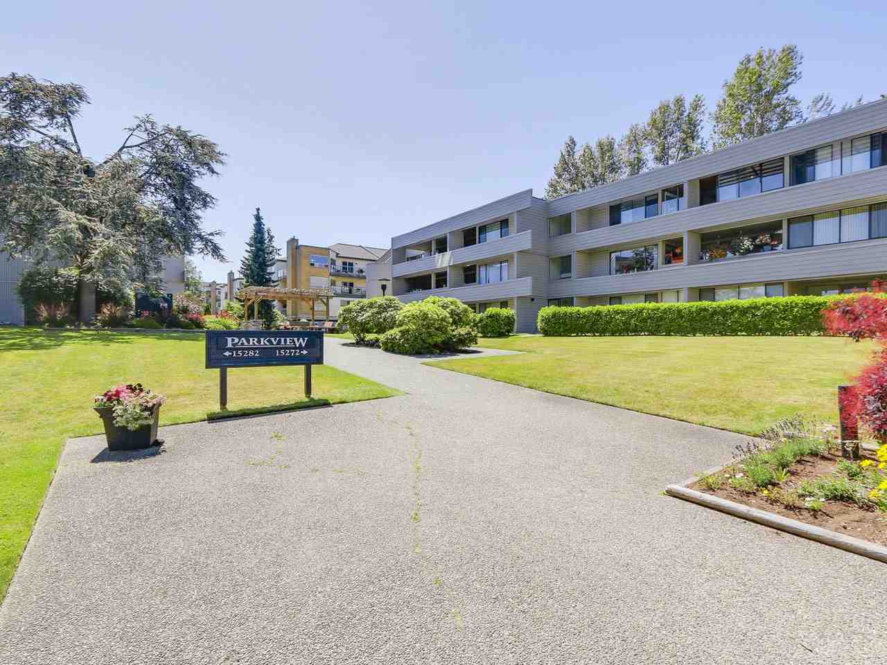 "Main Photo: 107 15272 19 Avenue in Surrey: King George Corridor Condo for sale in ""PARKVIEW"" (South Surrey White Rock)  : MLS®# R2183797"