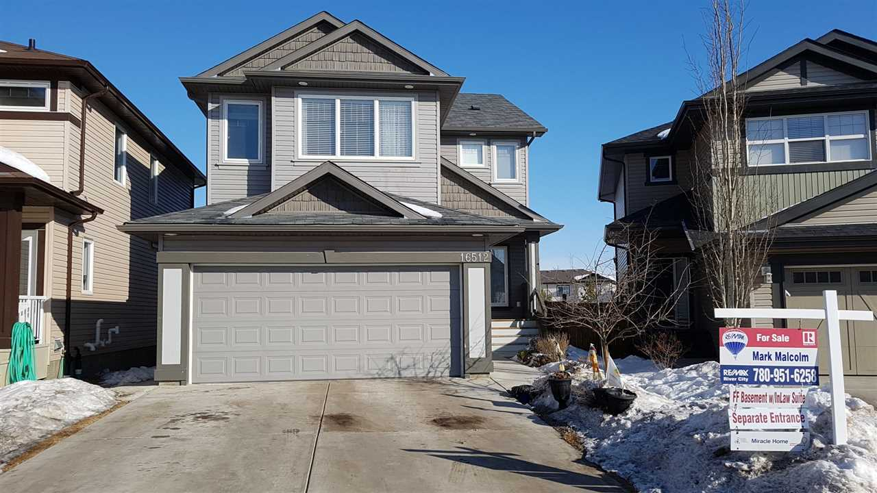 Main Photo: 16512 42 Street in Edmonton: Zone 03 House for sale : MLS® # E4100197