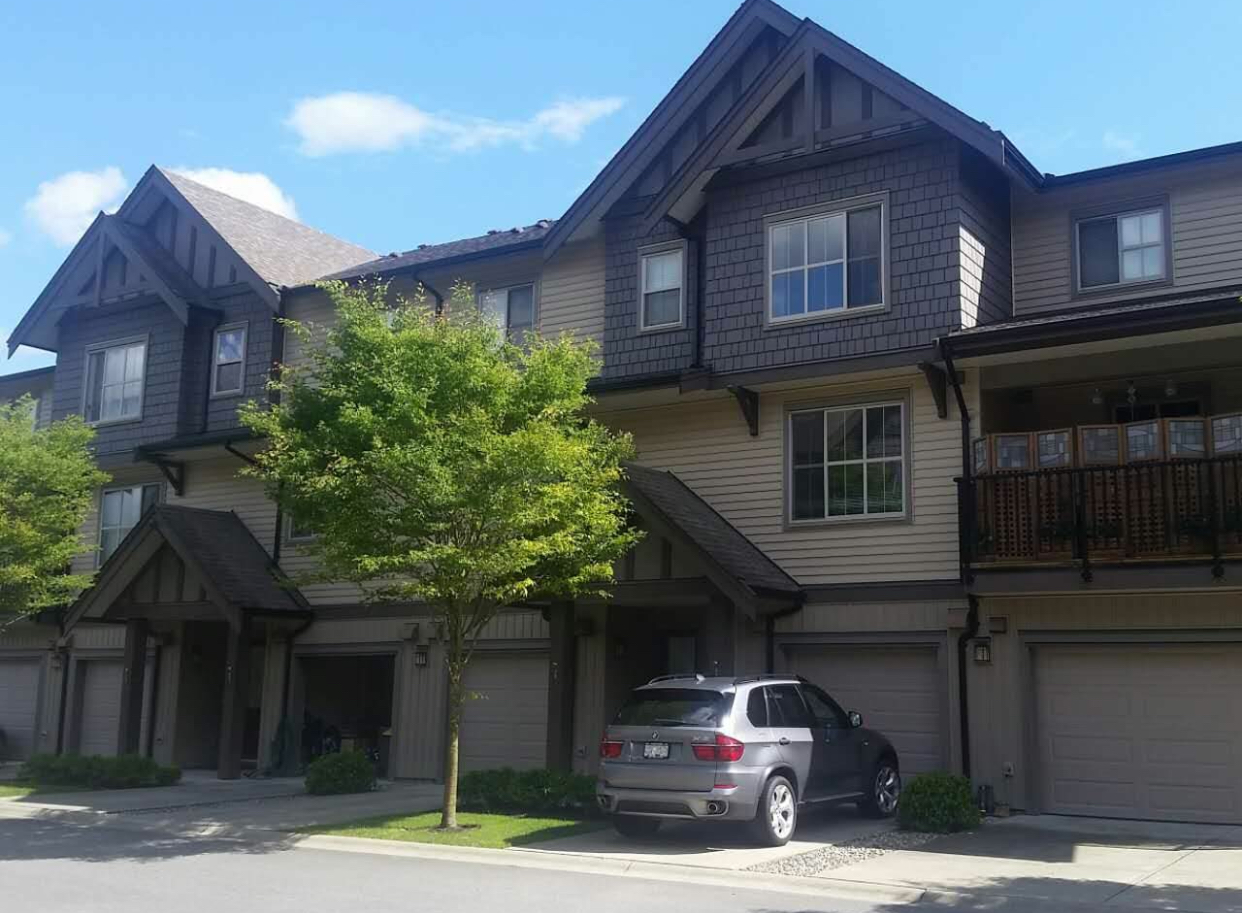 Street in langley walnut grove townhouse for