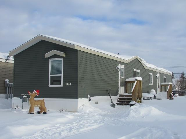 "Main Photo: 8611 79A Street in Fort St. John: Fort St. John - City SE Manufactured Home for sale in ""WINFIELD ESTATES"" (Fort St. John (Zone 60))  : MLS® # N241138"