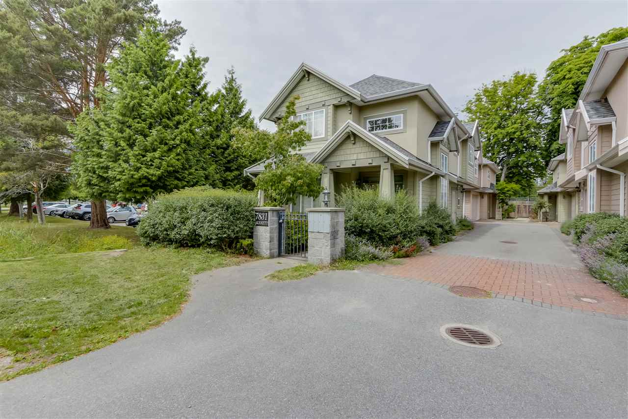 Main Photo: 3 7831 BENNETT Road in Richmond: Brighouse South Townhouse for sale : MLS® # R2082766