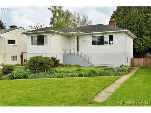 Main Photo: 1871 Allenby Street in VICTORIA: SE Camosun Single Family Detached for sale (Saanich East)  : MLS® # 377564