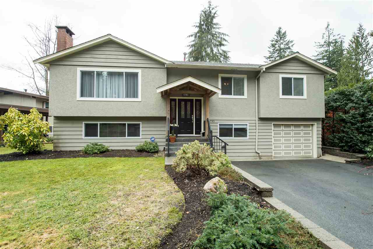 Main Photo: 4793 HOSKINS Road in North Vancouver: Lynn Valley House for sale : MLS®# R2149450