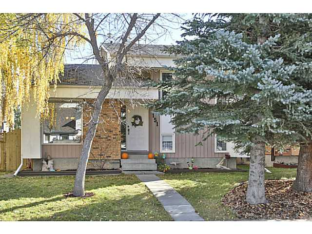 Main Photo: 151 WOODBROOK Way SW in Calgary: Woodbine Residential Detached Single Family for sale : MLS® # C3639407