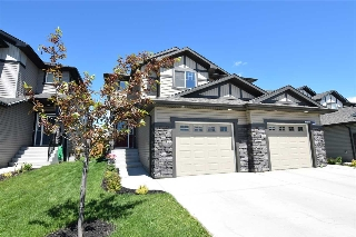Main Photo: 1414 152 Avenue in Edmonton: Zone 35 House Half Duplex for sale : MLS® # E4061220