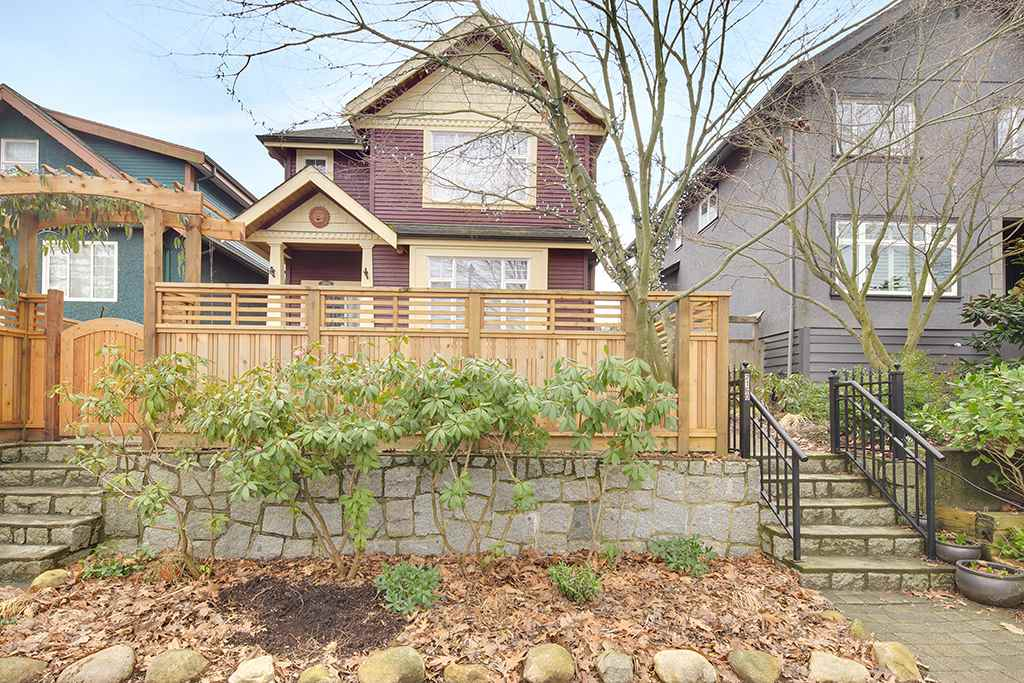 Main Photo: 2160 E 2ND Avenue in Vancouver: Grandview VE House 1/2 Duplex for sale (Vancouver East)  : MLS® # R2143719
