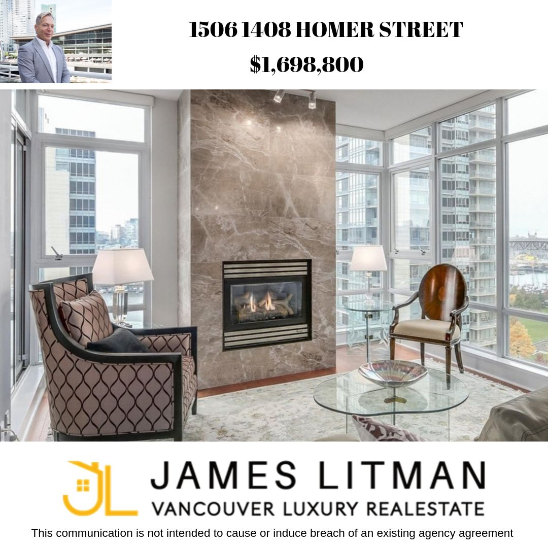 FEATURED LISTING: 1506 - 1408 Homer Street Vancouver