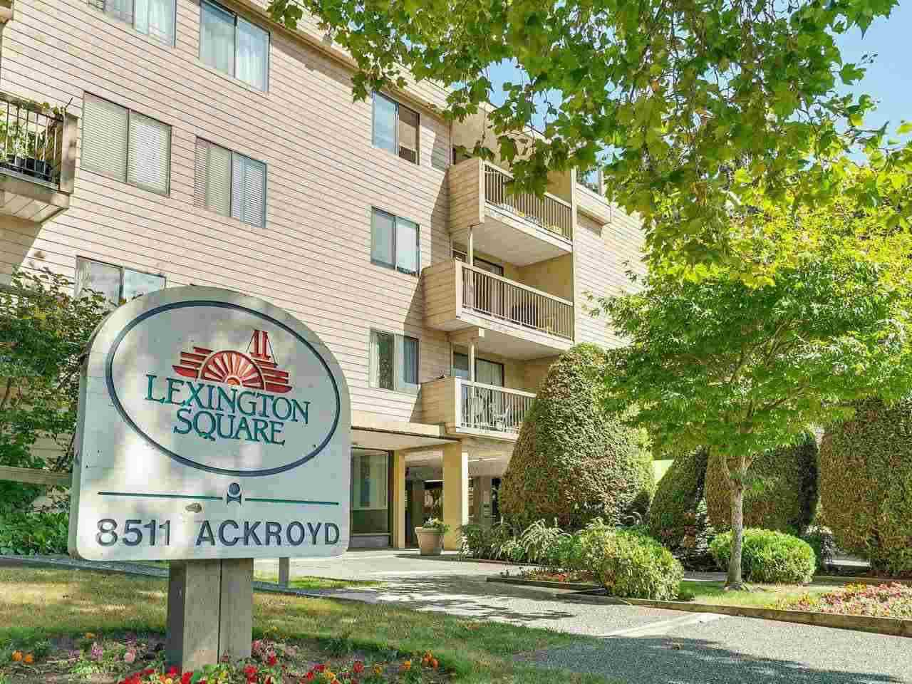 "Main Photo: 208 8511 ACKROYD Road in Richmond: Brighouse Condo for sale in ""Lexington Square"" : MLS®# R2308188"