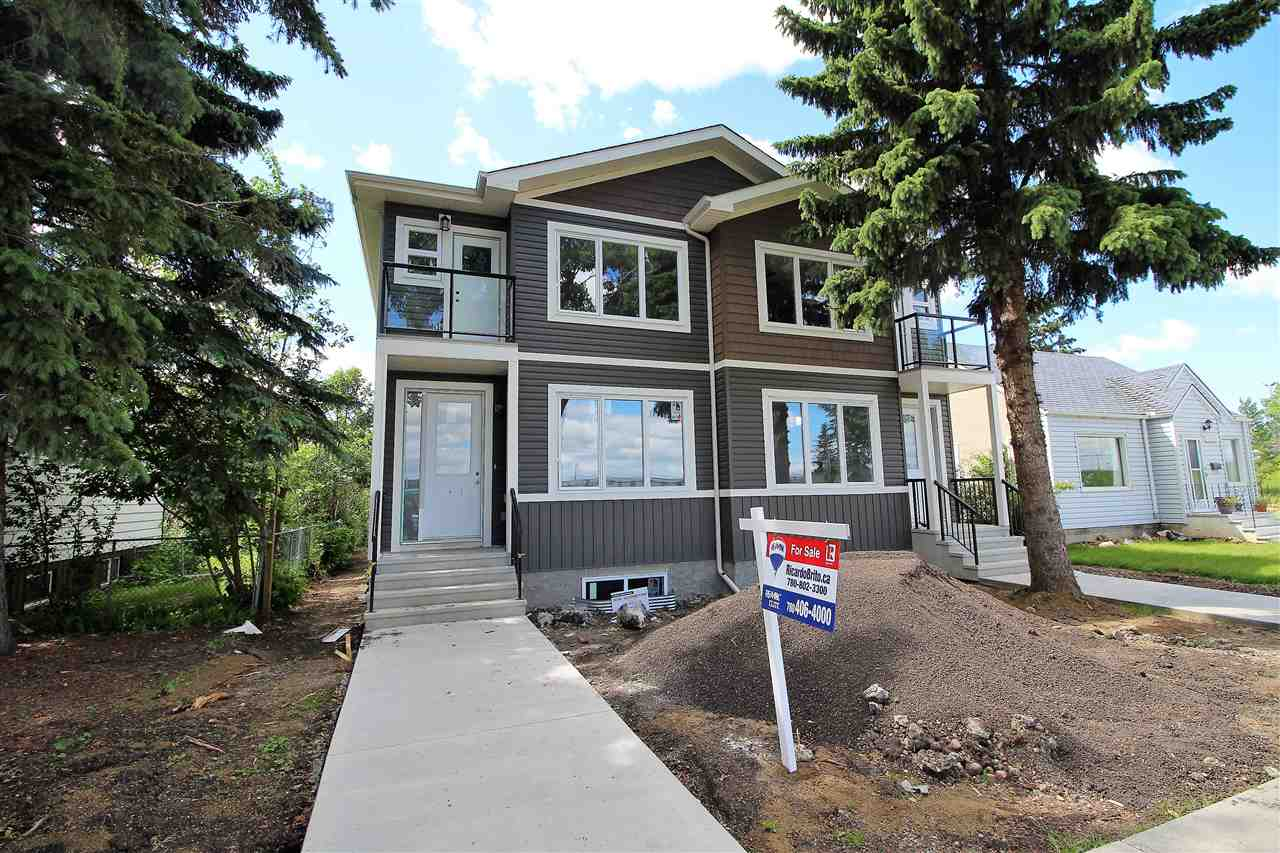 Main Photo: 12218 122 Street NW in Edmonton: Zone 04 House Half Duplex for sale : MLS® # E4070620
