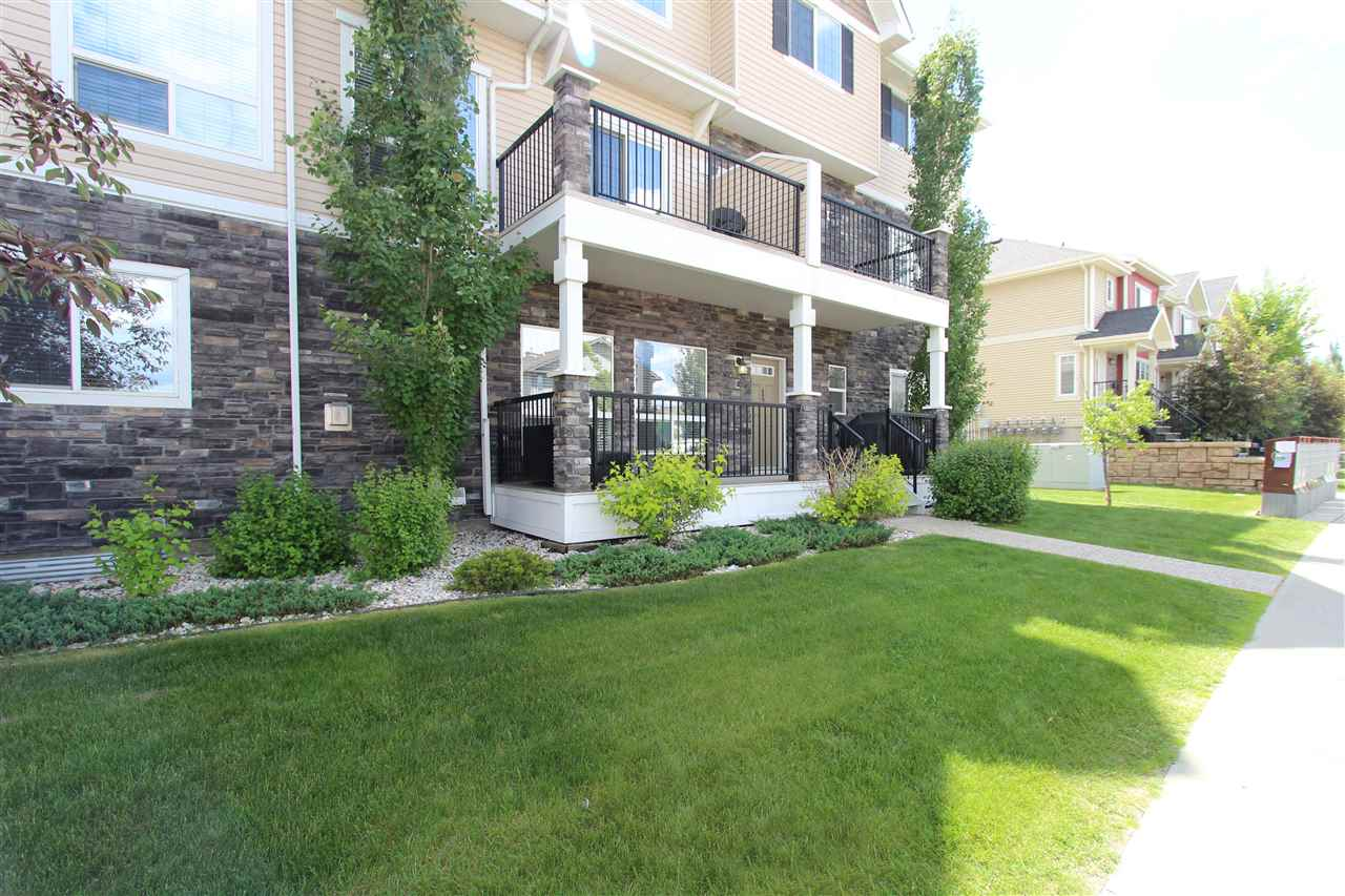 Main Photo: 13 7293 SOUTH TERWILLEGAR Drive in Edmonton: Zone 14 Townhouse for sale : MLS® # E4071154