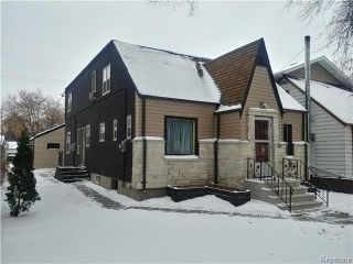Main Photo: 465 Aulneau Street in Winnipeg: Industrial / Commercial / Investment for sale (2A)  : MLS® # 1724979