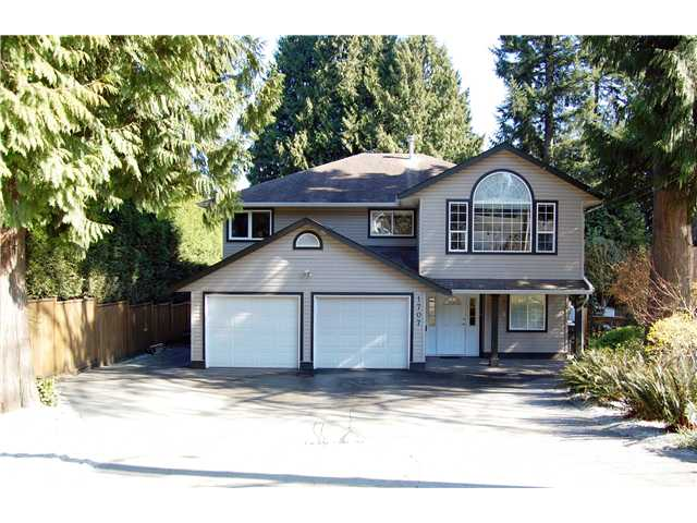 Main Photo: 1707 Oughton Drive in Port Coquitlam: Mary Hill House for sale : MLS® # V1109889