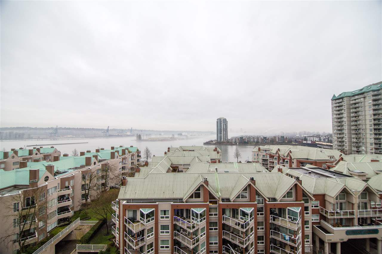 Main Photo: 1006 1235 QUAYSIDE DRIVE in New Westminster: Quay Condo for sale : MLS®# R2230787