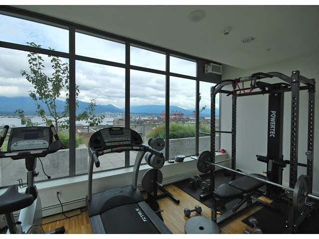 Even the gym has a great view.