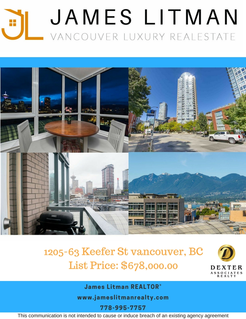 FEATURED LISTING: 1205 63 Keefer Street Vancouver
