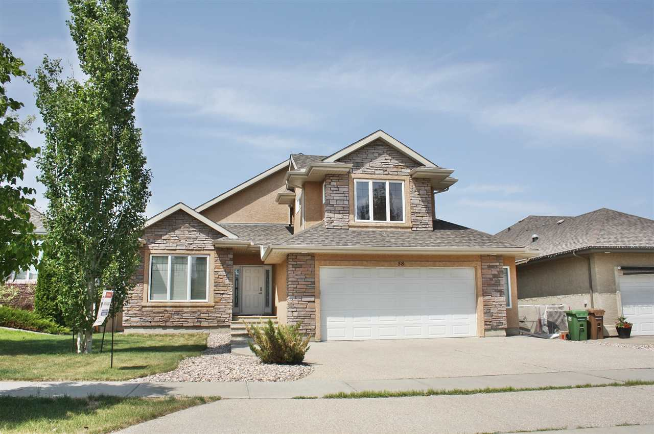 Main Photo: 58 KINGSMOOR Close: St. Albert House for sale : MLS®# E4109078