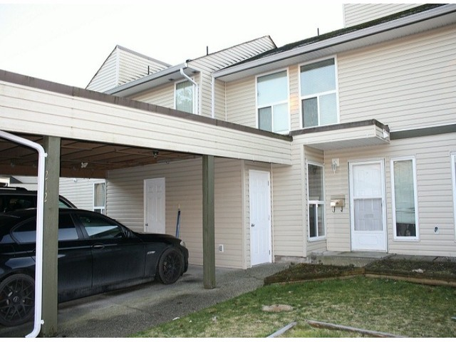 "Main Photo: 212 32550 MACLURE Road in Abbotsford: Abbotsford West Townhouse for sale in ""CLEARBROOK VILLAGE"" : MLS®# F1301721"