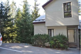 Main Photo: 32 6125 EAGLE DRIVE in Whistler: Whistler Cay Heights Townhouse for sale : MLS®# R2314228