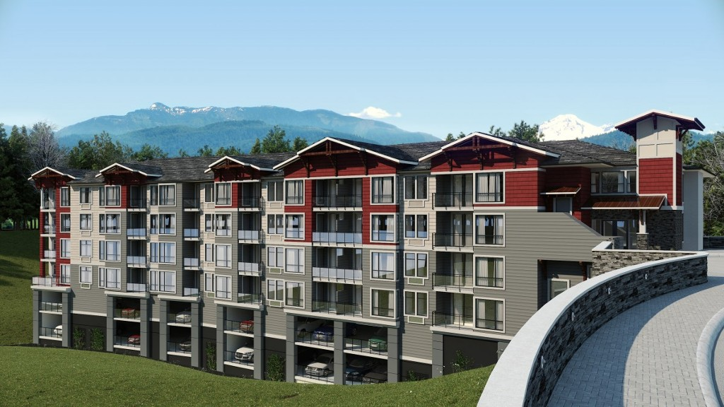 Main Photo: 407-2242 Whatcom Rd in Abbotsford: Abbotsford East Condo for rent