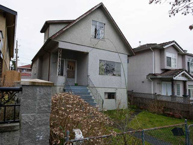 Main Photo: 5310 SOMERVILLE Street in Vancouver: Fraser VE House for sale (Vancouver East)  : MLS®# V940454