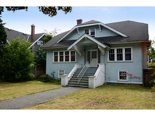 Main Photo: 2386 W 15TH Avenue in Vancouver: Kitsilano House for sale (Vancouver West)  : MLS®# V1078805