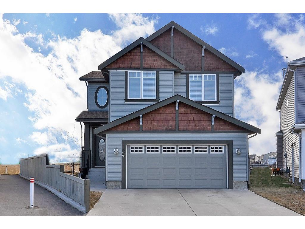 Main Photo: 34 Copperstone Crescent SE in Calgary: Detached for sale : MLS® # C4056532