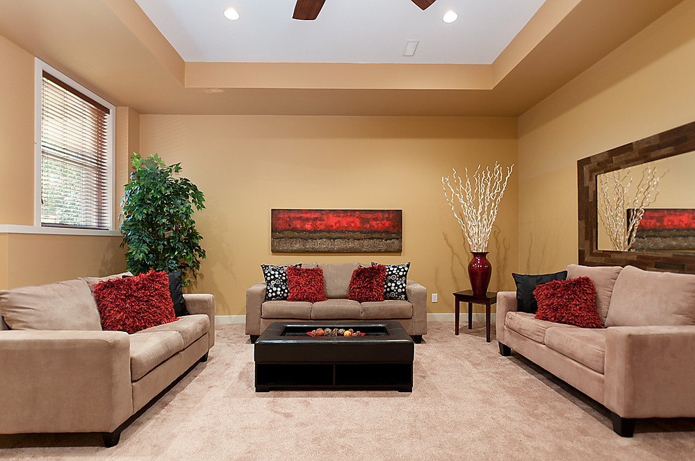 HUGE recreation/media/play room for entertaining your family and guests or for some quiet relaxation time alone.