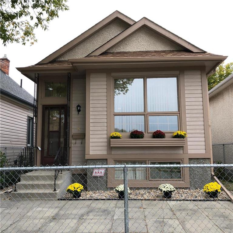 FEATURED LISTING: 6 Ada Street Winnipeg
