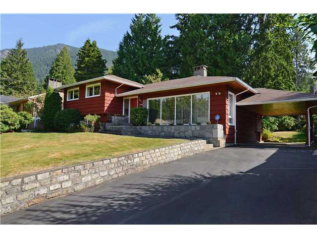 Main Photo: 5038 SHIRLEY Avenue in North Vancouver: Canyon Heights NV House for sale : MLS® # V971985