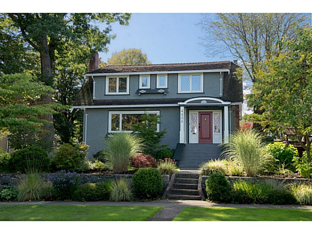 Main Photo: 4406 W 9TH AV in Vancouver: Point Grey House for sale (Vancouver West)  : MLS®# V1028585