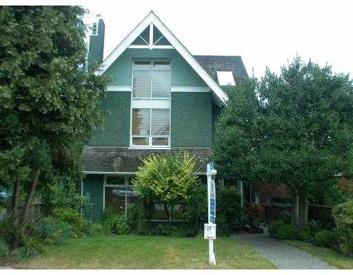 Main Photo: 3163 W 2ND AV in Vancouver: Kitsilano House 1/2 Duplex for sale (Vancouver West)  : MLS® # V552546