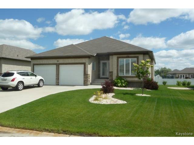 Main Photo: 36 Britton Bay in HEADINGLEY: Headingley North Condominium for sale (West Winnipeg)  : MLS®# 1417421