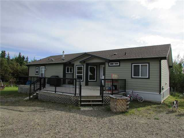 "Main Photo: 19273 WONOWON Road in Fort St. John: Fort St. John - Rural W 100th Manufactured Home for sale in ""WONOWON"" (Fort St. John (Zone 60))  : MLS® # N230467"