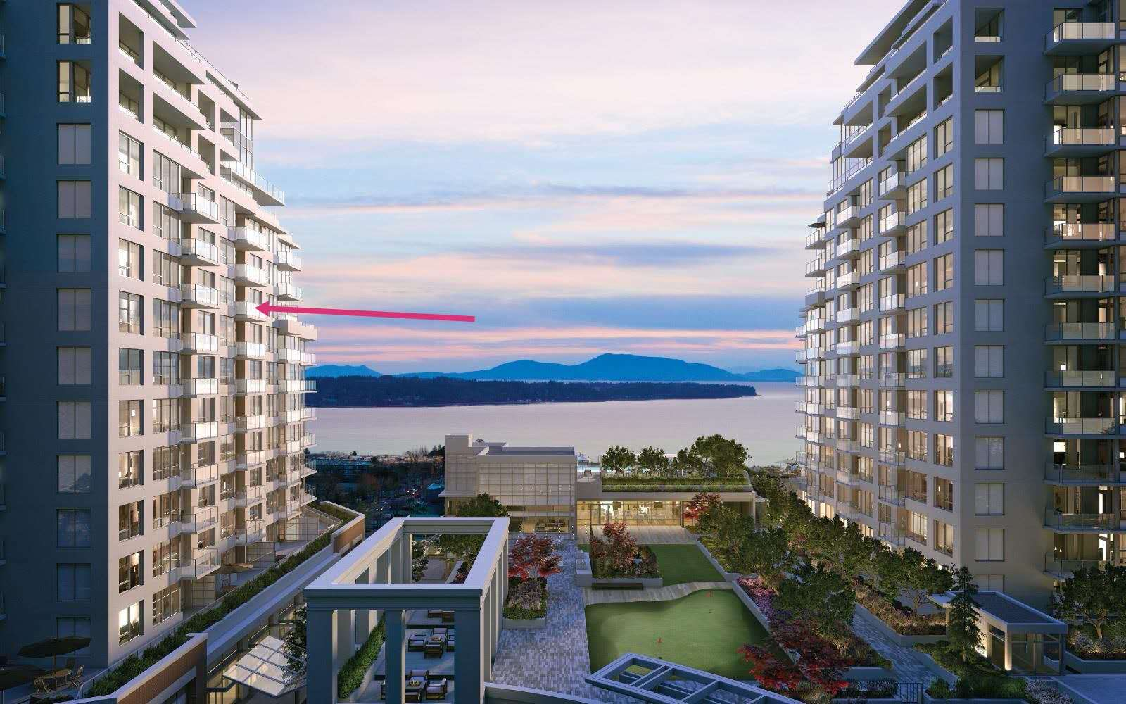 FEATURED LISTING: C1109 - 1441 Johnston Road White Rock