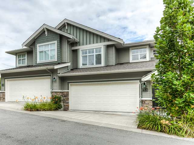 Main Photo: 46 11282 COTTONWOOD Drive in Maple Ridge: Cottonwood MR Townhouse for sale : MLS®# V966110